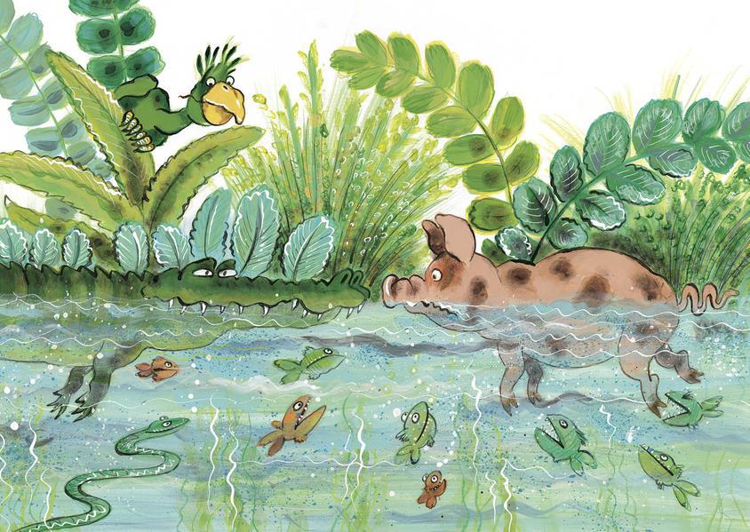 Krokodil (Postkarten VE 10) - Coverbild