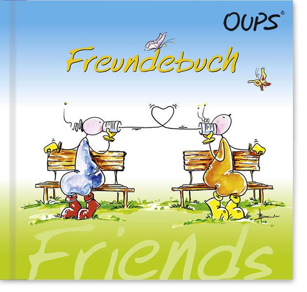 Oups Freundebuch - Coverbild