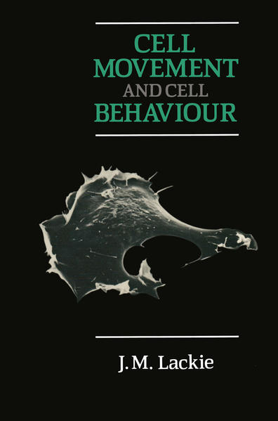 Cell Movement and Cell Behaviour - Coverbild