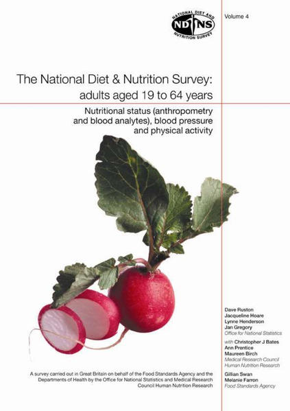 National Diet and Nutrition Survey: Vol. 4 - Coverbild