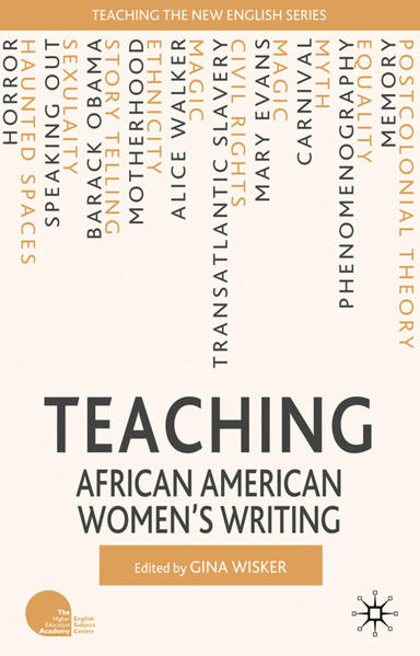 Teaching African American Women's Writing - Coverbild
