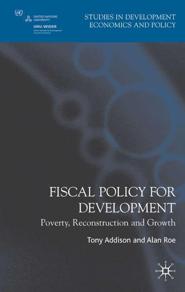 Fiscal Policy for Development - Coverbild