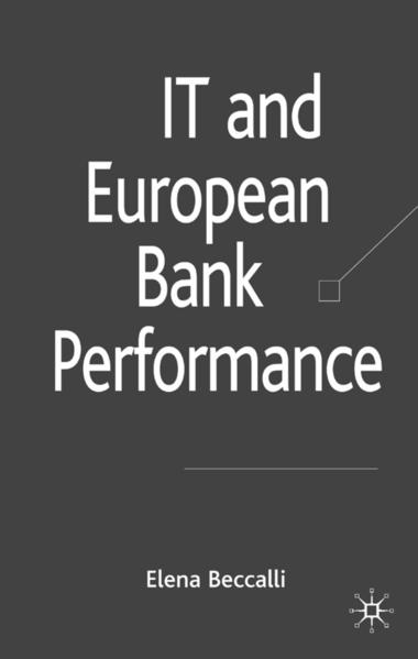 IT and European Bank Performance - Coverbild
