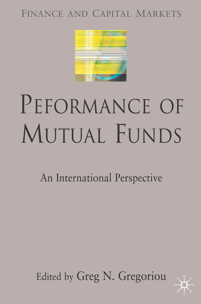 Performance of Mutual Funds - Coverbild