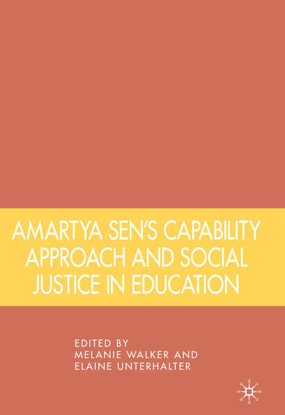 Amartya Sen's Capability Approach and Social Justice in Education - Coverbild