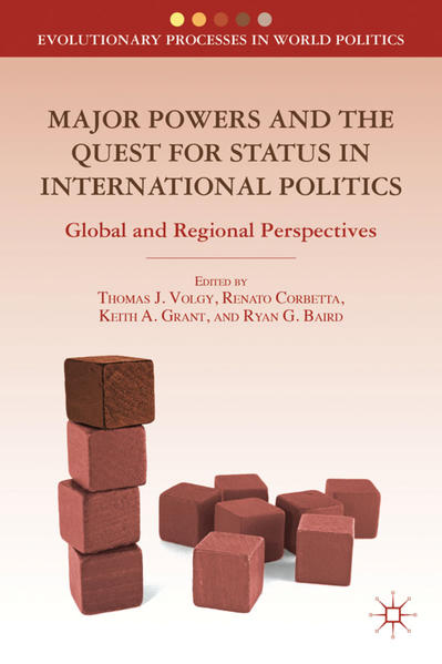 Major Powers and the Quest for Status in International Politics - Coverbild