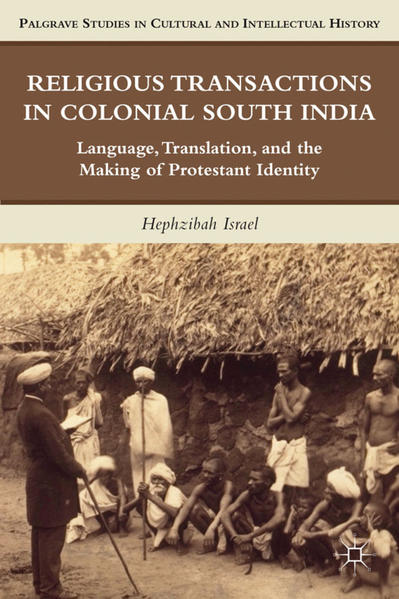 Religious Transactions in Colonial South India - Coverbild