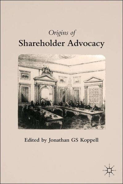 Origins of Shareholder Advocacy - Coverbild