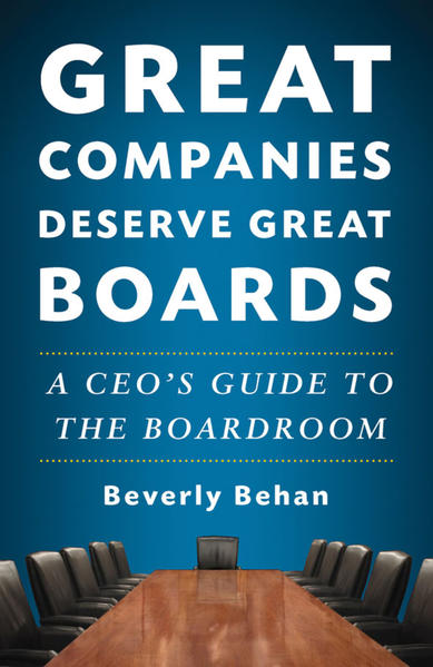 Great Companies Deserve Great Boards - Coverbild