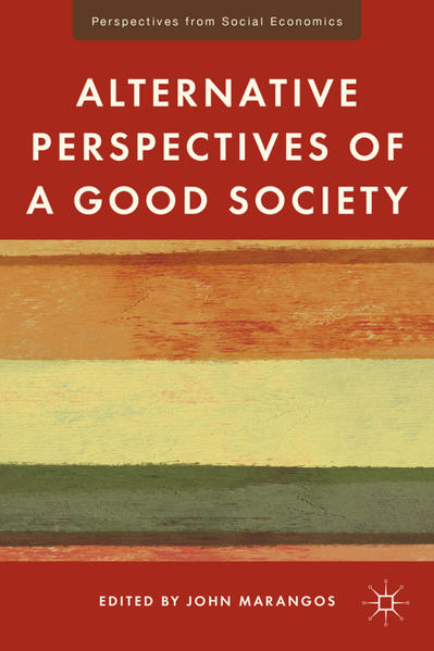 Alternative Perspectives of a Good Society - Coverbild