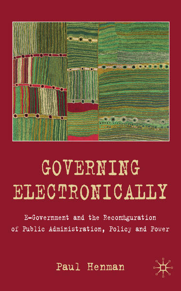 Governing Electronically - Coverbild