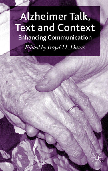 Alzheimer Talk, Text and Context - Coverbild