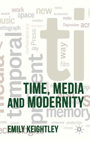 Time, Media and Modernity - Coverbild
