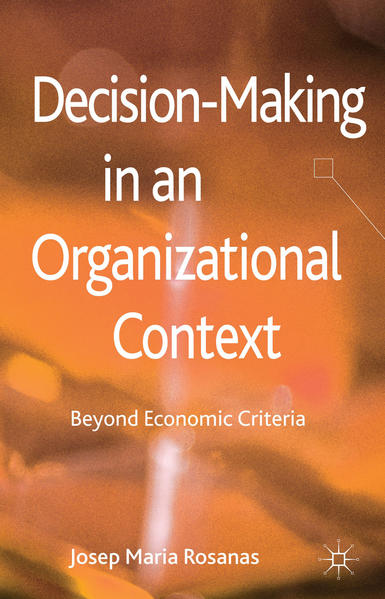 Decision-Making in an Organizational Context - Coverbild