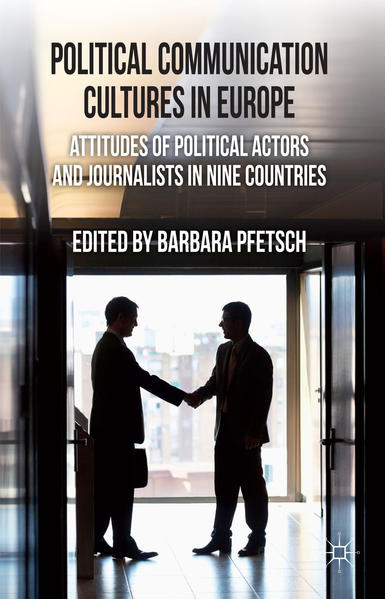 Political Communication Cultures in Western Europe - Coverbild
