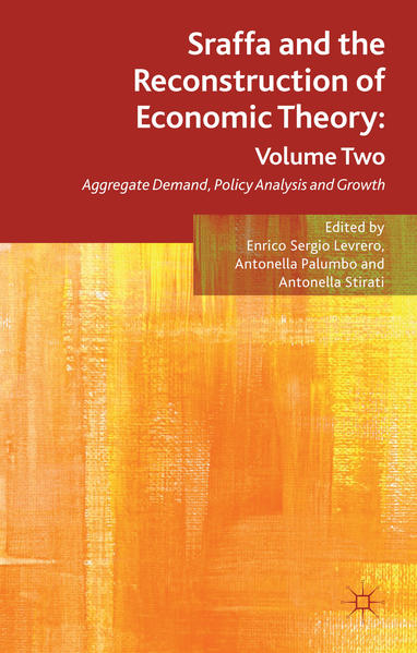 Sraffa and the Reconstruction of Economic Theory: Volume Two - Coverbild