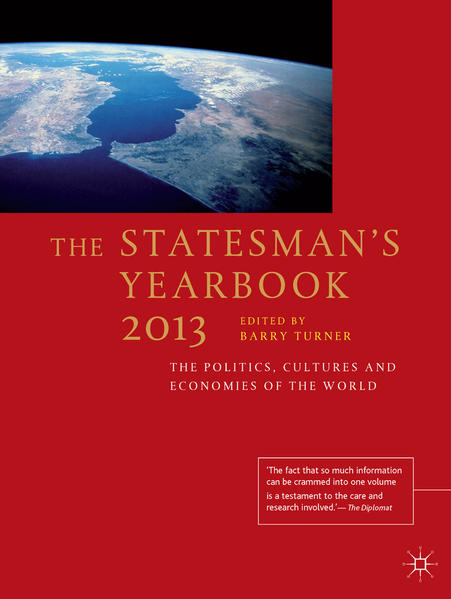 The Statesman's Yearbook 2013 - Coverbild