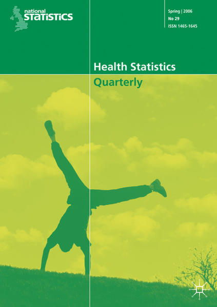 Health Statistics Quarterly No 33, Spring 2007 - Coverbild