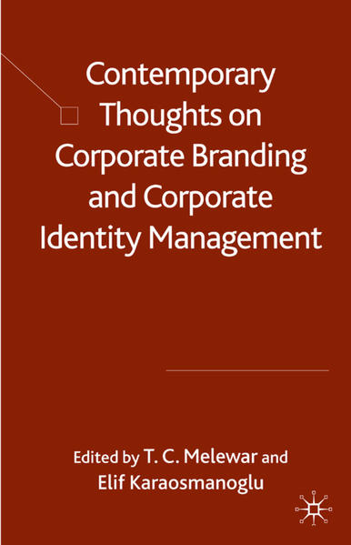 Contemporary Thoughts on Corporate Branding and Corporate Identity Management - Coverbild