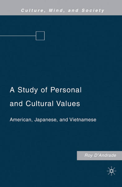 A Study of Personal and Cultural Values - Coverbild