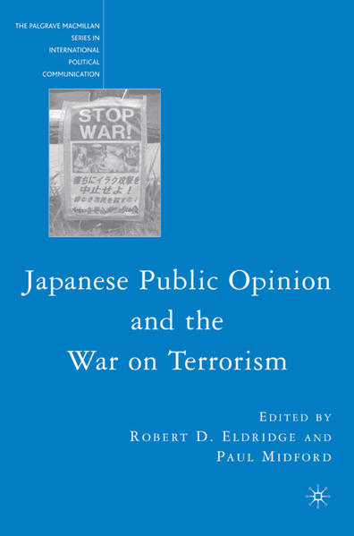 Japanese Public Opinion and the War on Terrorism - Coverbild