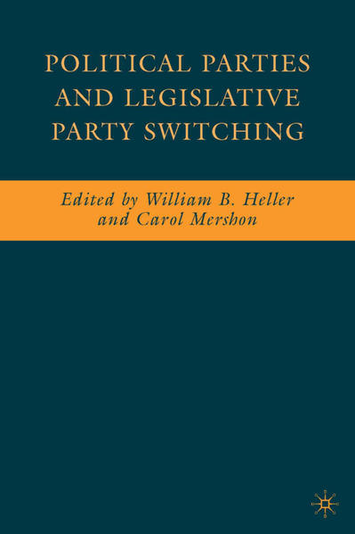 Political Parties and Legislative Party Switching - Coverbild