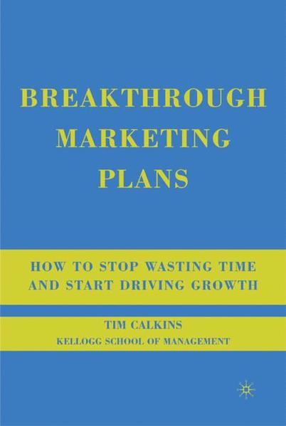Breakthrough Marketing Plans - Coverbild