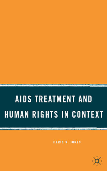 AIDS Treatment and Human Rights in Context - Coverbild