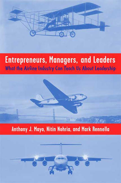 Entrepreneurs, Managers, and Leaders - Coverbild