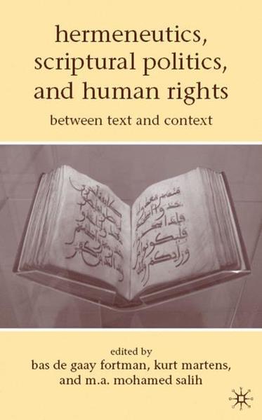 Hermeneutics, Scriptural Politics, and Human Rights - Coverbild