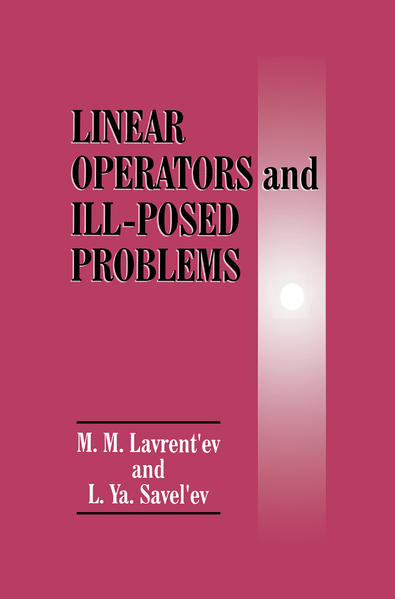 Linear Operators and Ill-Posed Problems - Coverbild