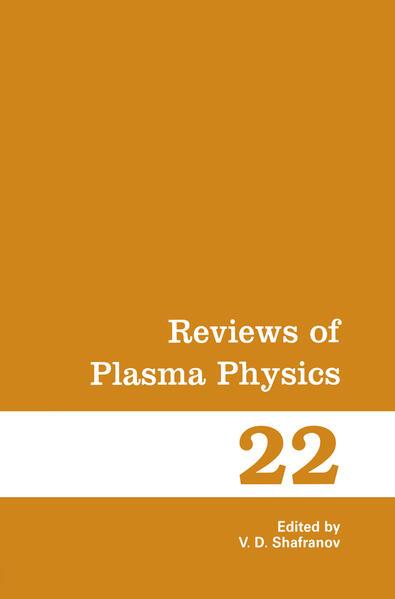 Reviews of Plasma Physics - Coverbild