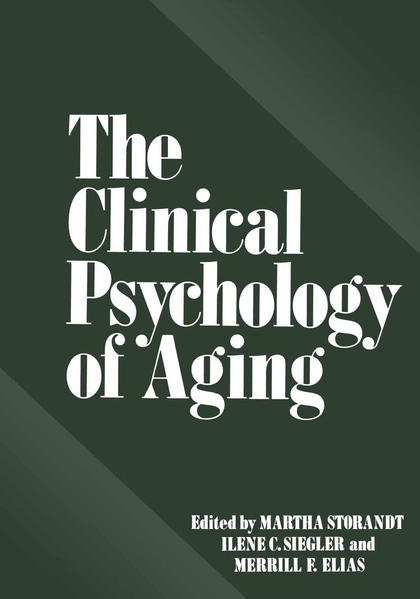 The Clinical Psychology of Aging - Coverbild
