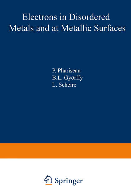 Electrons in Disordered Metals and at Metallic Surfaces - Coverbild