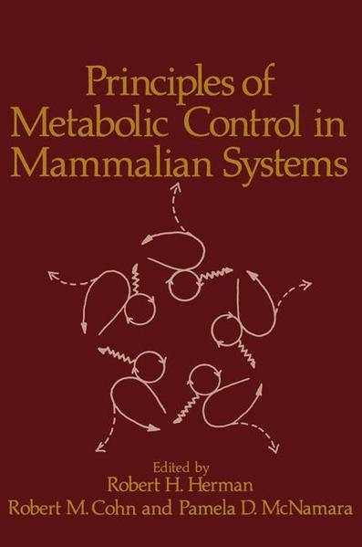 Principles of Metabolic Control in Mammalian Systems - Coverbild