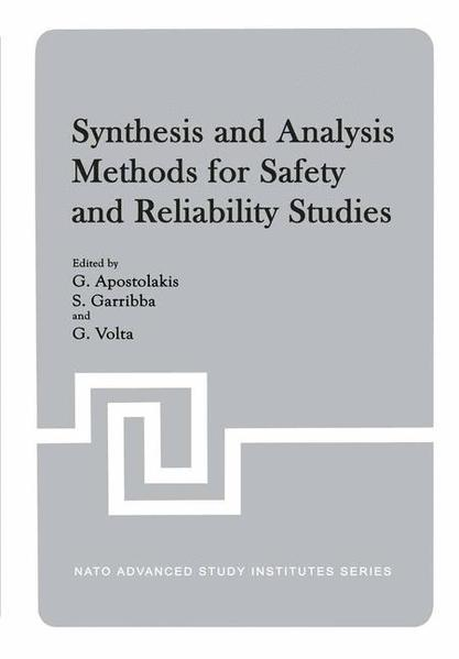 Synthesis and Analysis Methods for Safety and Reliability Studies - Coverbild