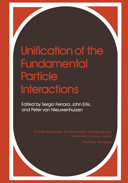 Unification of the Fundamental Particle Interactions - Coverbild