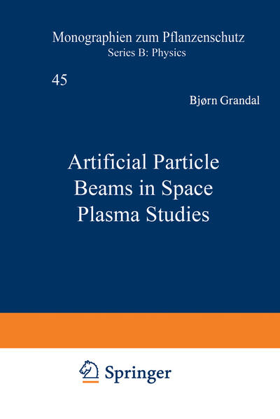 Artificial Particle Beams in Space Plasma Studies - Coverbild