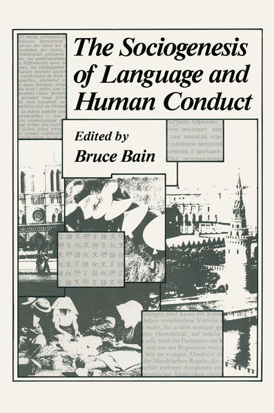 The Sociogenesis of Language and Human Conduct - Coverbild