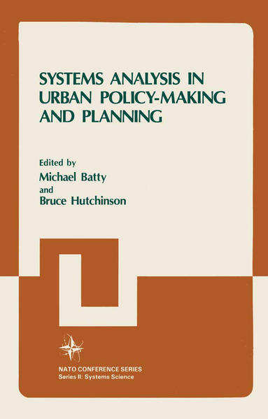 Systems Analysis in Urban Policy-Making and Planning - Coverbild