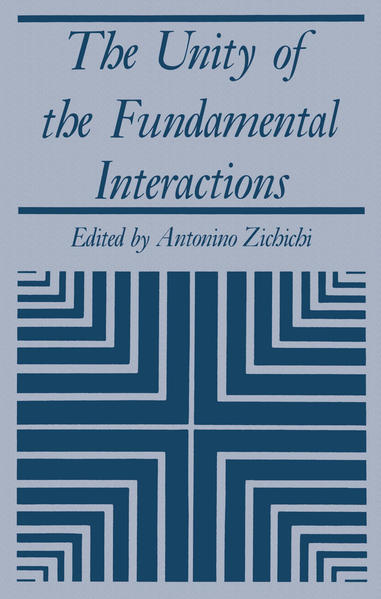 The Unity of the Fundamental Interactions - Coverbild
