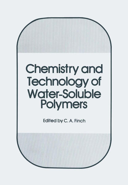 Chemistry and Technology of Water-Soluble Polymers - Coverbild