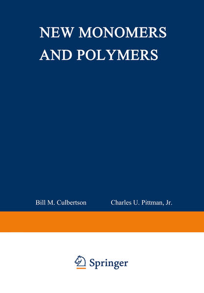 New Monomers and Polymers - Coverbild