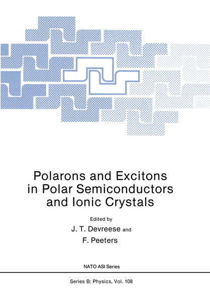 Polarons and Excitons in Polar Semiconductors and Ionic Crystals - Coverbild