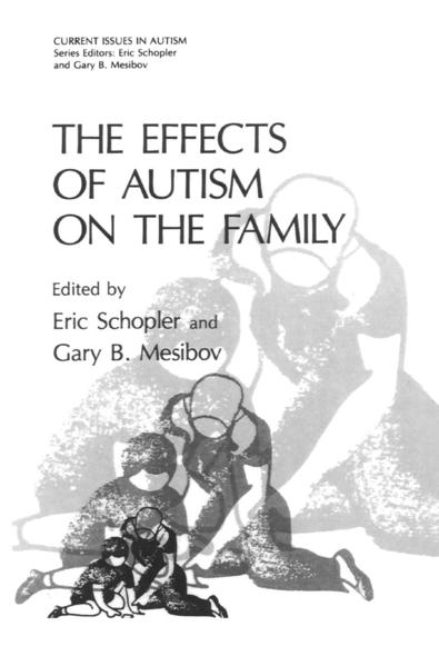 The Effects of Autism on the Family - Coverbild