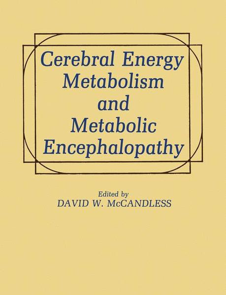 Cerebral Energy Metabolism and Metabolic Encephalopathy - Coverbild