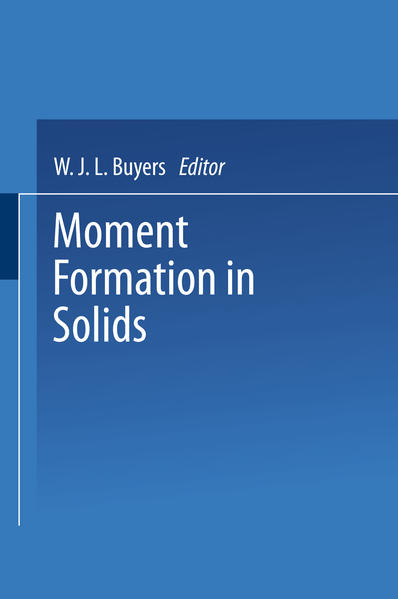 Moment Formation In Solids - Coverbild