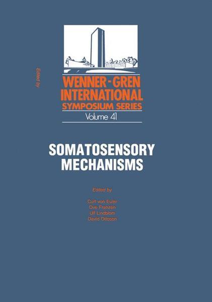 Somatosensory Mechanisms - Coverbild