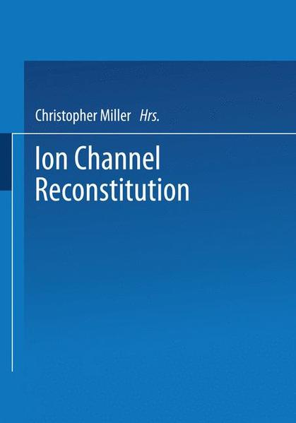 Ion Channel Reconstitution - Coverbild