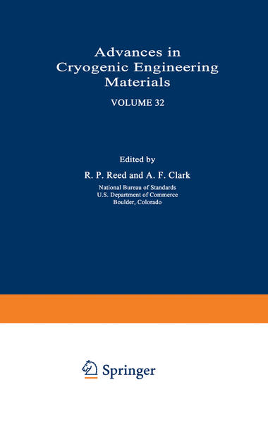 Advances in Cryogenic Engineering Materials - Coverbild